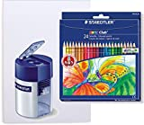 STAEDTLER Buntstifte Noris Club Set 24 Farben - brillante Farben