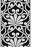 Livingwalls panel autoadhesivo Pop Up Panel gris negro 2,50 m x 0,35 m 942182