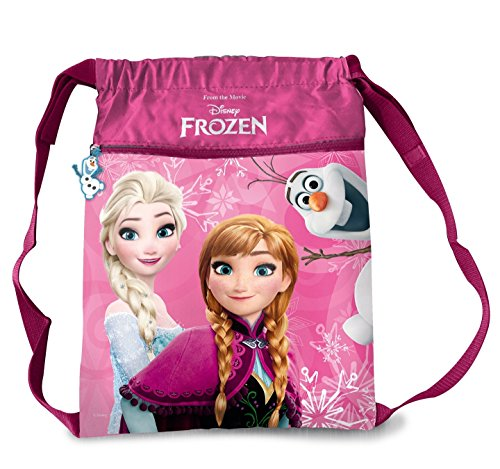 Piraten Cartoon Jack Nimmerland Und Die (Star Licensing Disney Frozen Kinderrucksack Turnbeutel mit Kordelzug, mehrfarbig (mehrfarbig) -)