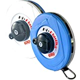 Freemans Measures Microfiber Hi-Plastika Measuring Tape, 30 Meter, Blue