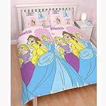 Princesa Disney 'Boulevard' doble juego de cama–diseño de impresión de repetitivo