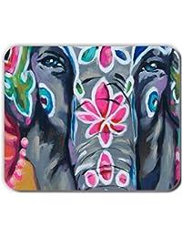 Babu Building sur Mousemats 240Mmx200Mmx2Mm Original avec Colorful Elephant  Drawing 4 pour Homme TPU Doux 93f05c8eef2