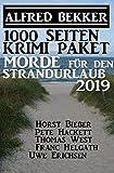 1000 Seiten Krimi-Paket Morde für den Strandurlaub 2019