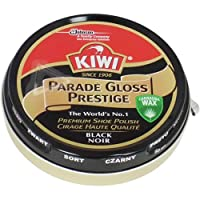 Kiwi Parade Gloss Prestige Black Shoe Polish, 50 ml