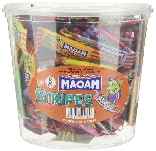 Haribo Maoam Stripes XXL Dose