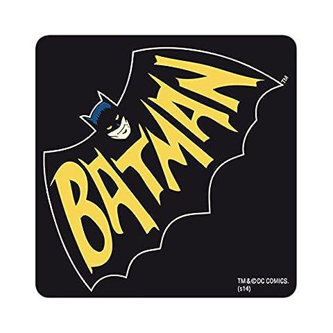 Logoshirt Batman Bat Untersetzer Coaster black - ca 10 cm x 10 cm