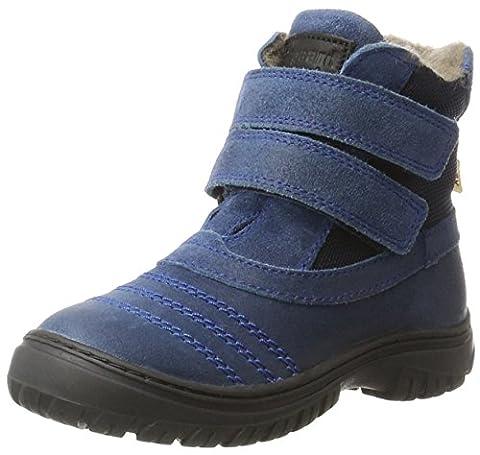 Bisgaard TEX boot 61014216, Unisex-Kinder Schneestiefel, Blau (605-1 Sea) 35