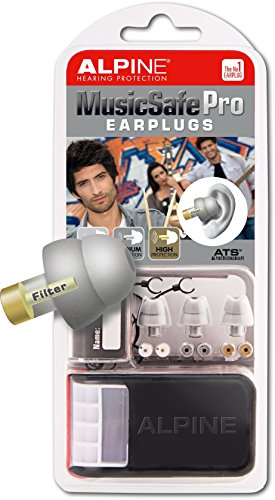 Alpine MusicSafe Pro Hearing Protection System for Musicians, Silver