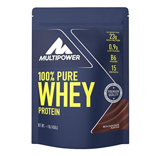 Multipower blend di proteine del siero del latte, cioccolato - busta da 450g