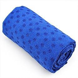 Kabalo AZUL Sport Fitness toalla de yoga Blanket WITH BAG - cubierta colchoneta - Non Slip Pilates Accessory - equipos de gimnasio en casa!