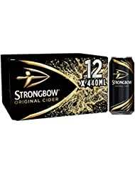 Strongbow Original Cider Can 440 ml (Case of 12)