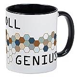CafePress–entgeltabrechnung Genius Tasse–Einzigartige Kaffee Tasse, Kaffeetasse, Tee, Tasse, White/Black Inside, S