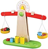 Lelin Wooden Educational Weighing Balancing Scale