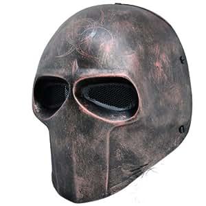 HawksTech nouveau Robot maille masque de Protection visage complet de Paintball Masque pour bal masqué
