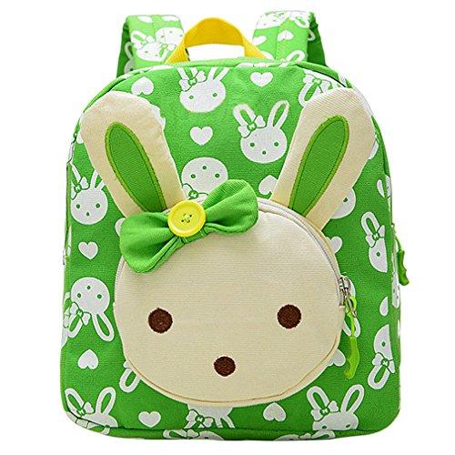 Imagen de hikong bolsa escuela bolso escolar infantil  viaje guardería primaria dibujos animados regalo niño niña cartoon conejo