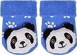 Wowerat Erstlings Rassel Söckchen - Baby Söckchen mit Tiermotiven Farbe Panda