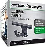 Rameder Attelage rotule démontable pour Suzuki Swift IV + Faisceau 7 Broches...