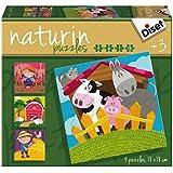 Diset - 69958 - Puzzle - Naturin Ferme
