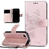 Coque iPhone 4S,Etui iPhone 4,Coque iPhone 4S Etui,relief Fleur Papillon Rencontre...
