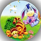 Premium Esspapier Tortenaufleger Tortenbild Geburtstag Winnie Pooh N8
