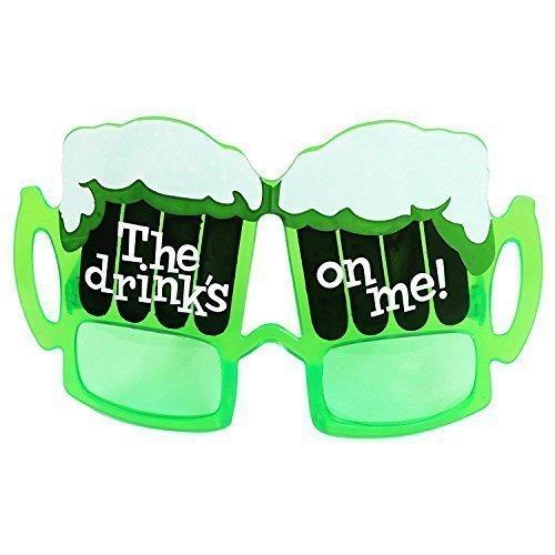 k Sind Auf Me' St Patricks Kostüm Brille (St Patricks Tag T-shirts)