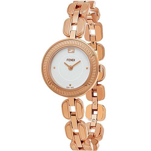 FENDI Women's My Way 28MM Steel CASE Swiss Quartz White DIAL Watch F351524000