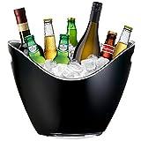 Yobansa® Cubitera de hielo de champán cubo de vino, frutas de cocina y contenedor de almacenamiento de verduras