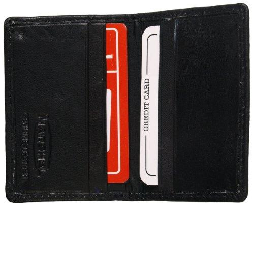 Preisvergleich Produktbild Hot Leathers (wld1013schwarz) Falttür Ausweishalter