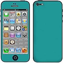 "Skin Apple iPhone 5 ""FX-Soft-Turquoise"" Sticker Pegatina"
