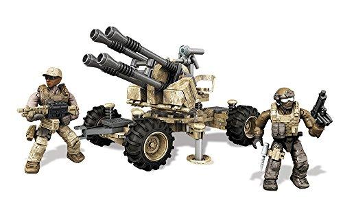 Veicoli antiaerei, o AFV, forniscono una difesa aerea per l truppe in posizioni vulnerabili ad attacchi aerei, come il terreno desertico. Dotati di torrette rotanti, gli AFV sono equipaggiati per sparare su obiettivi in movimento. Lascia il tuo segno...