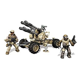 Mega Mattel Bloks DKX53 – Konstruktionsspielzeug, Call of Duty Anti-Aircraft Vehicle