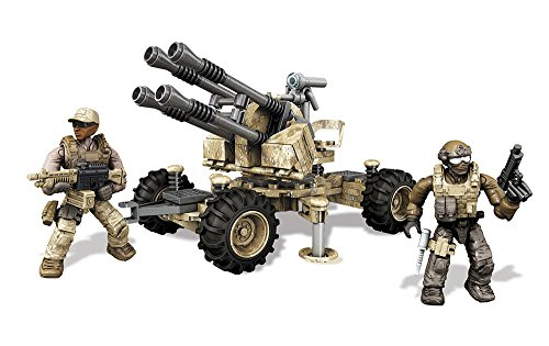Mattel Mega Bloks DKX53 - Konstruktionsspielzeug, Call of Duty Anti-Aircraft Vehicle