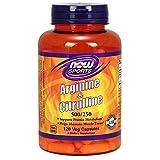AMINO Aminoacidi NOW 120 Capsule Arginine + Citrulline NOW0037 0733739000378