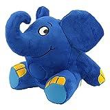 ANSMANN LED Nachtlicht Elefant Kuscheltier inkl Batterien - Die Sendung mit der Maus - Einschlafhilfe zum Kuscheln mit Musik Funktion - Kuschelweiches 2in1 Plüschtier für Baby & Kind im Kinderzimmer