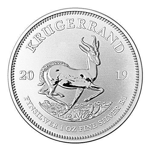 1 OZ Silber Silver Münze 1 UNZE - Krügerrand 2019