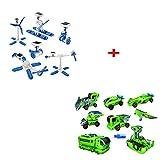 ShopMeFast Combo 6 in 1 And 7 In 1 Educational Solar DIY Robot Kit (Multicolor)