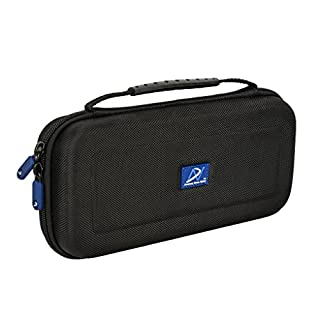 AHG DNPRO-SWITCH Travel Carrying Case for Nintendo Switch (Black, Nylon)
