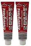 2x 150ml Elsterglanz Original Chrompflege, Chromreiniger, Chrompolitur eignet sich besonders für...