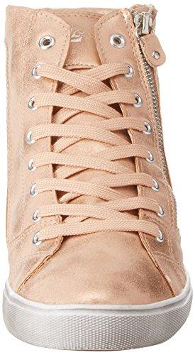 GEKA Damen Treasure Hohe Sneaker Gold (Rosegold)