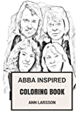 ABBA Inspired Coloring Book: The Most Commercial...