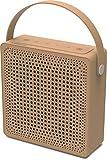 Speedlink Playawave Outdoor Bluetooth-Lautsprecher (bis zu 12 Stunden Spielzeit, staubgeschützt, spritzwassergeschützt nach IP-Schutzklasse 65) braun