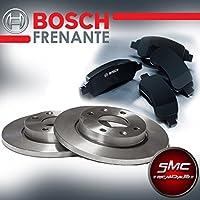 Kit Discos de Freno Bosch + Pastillas Bosch delantero 0986478853+ 0986494019