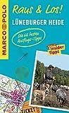 MARCO POLO Raus & Los! Lüneburger Heide: Guide und große Erlebnis-Karte in praktischer Schutzhülle