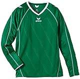 Erima roma maillot à manches longues pour enfant 8 ans Vert - Vert émeraude/blanc