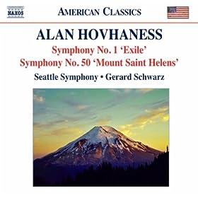 """Symphony No. 50, Op. 360, """"Mount St. Helens"""": III. Volcano: Adagio - Allegro"""