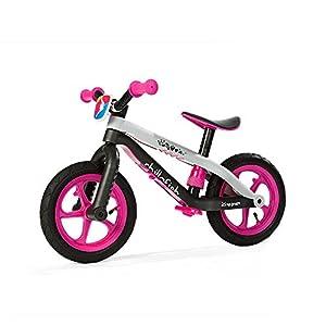 Chillafish - BMXie Balance Bicicleta sin Pedales, Color Rosa (49901PINK)