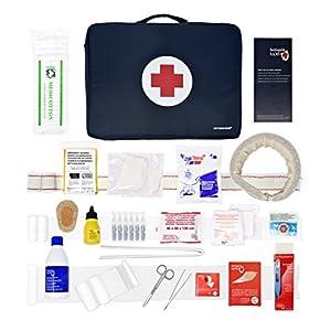Erste-Hilfe-Set SPORT für Sportausrüstungen. (Digitalthermometer, Halskragen, Sofort-Kühlakku, Finger Schiene…)