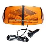 Auto LED Rundumleuchte Warnleuchte Alarm Licht, DC12-24 V, Gelb