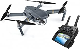DJI - 190021280977 Mavic Pro Drone | Drone Quadricoptère Portable & Pliable avec Caméra | Offre 27-Min de Vol | Gimbal...