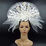 Headwear hyperbole Bühnenperformance Laufsteg kreative Branch Headwear Bride Fotografie Foto Mode Frisur Dekoration einzigartig handgemacht